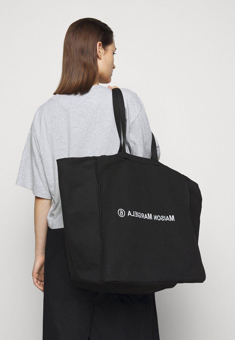 MM6 Maison Margiela - WASHED BERLIN BAG  - Tote bag - black