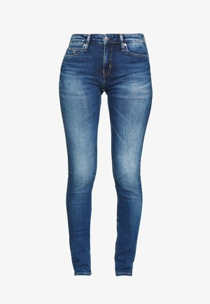 MID RISE - Jeans Skinny Fit - bright blue