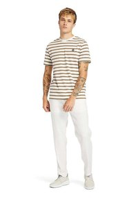 Timberland - Tracksuit bottoms - white sand - 1