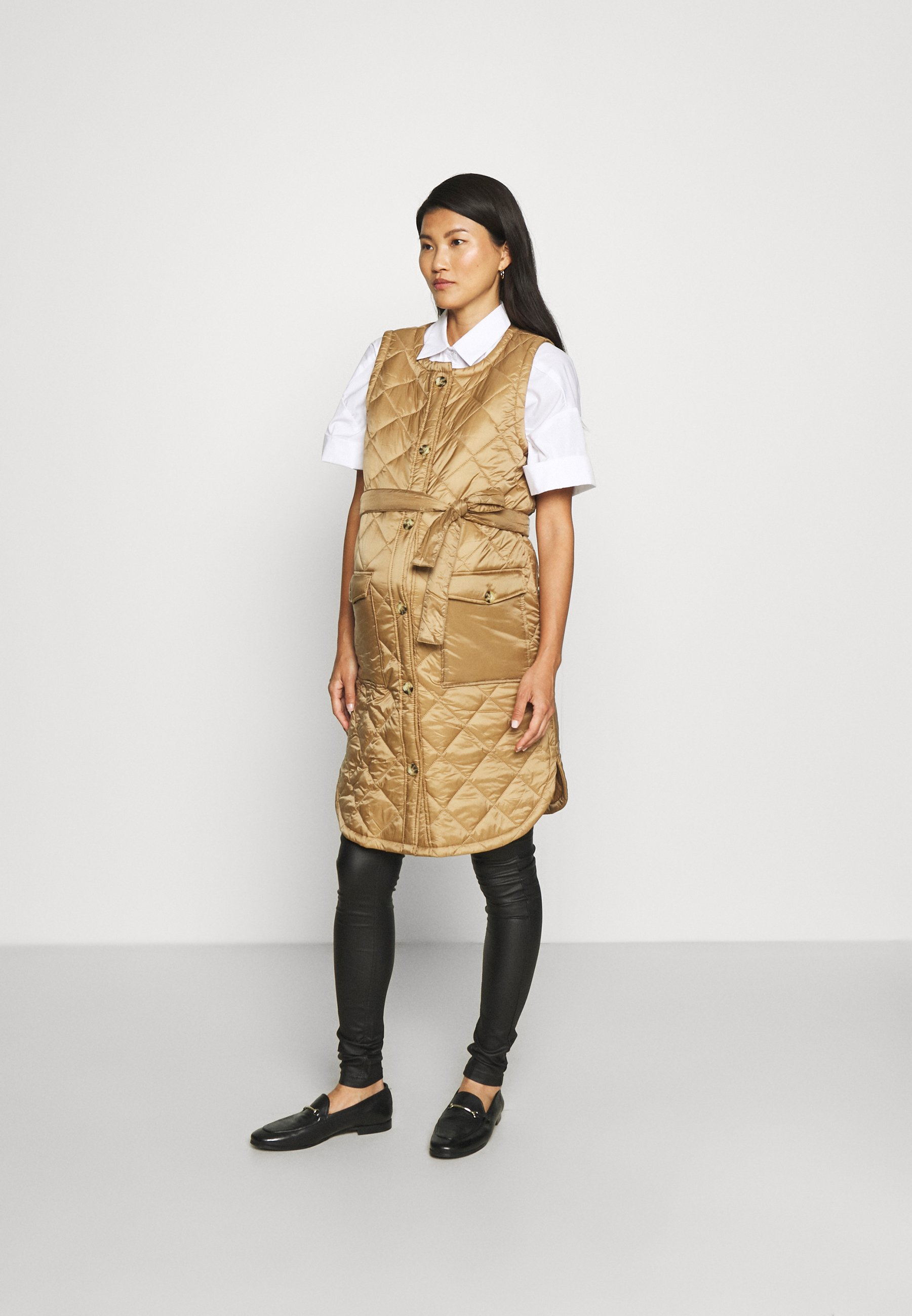 Mujer MLFRILLE QUILTED WAIST COAT 2-IN-1 - Chaleco