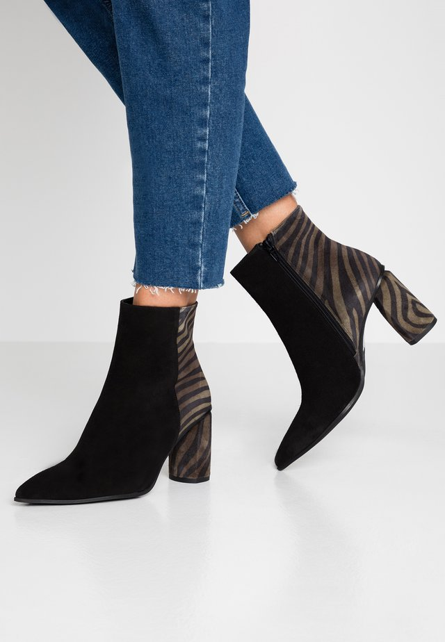 MINA - Classic ankle boots - black