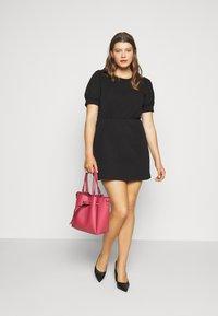 Pieces Curve - PCMERVE DRESS - Day dress - black - 1