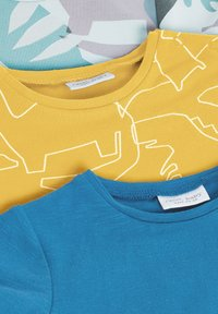 Next - 3 PACK DINOSAUR - Print T-shirt - yellow - 5