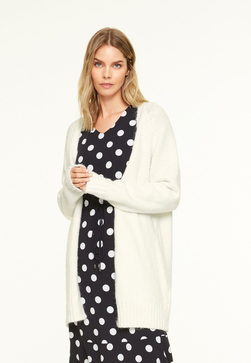 comma casual identity - Cardigan - light cream
