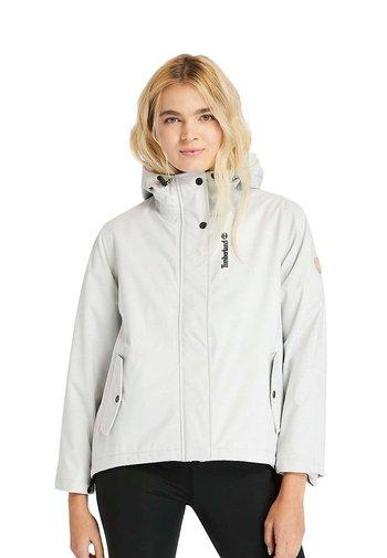 SHORT  - Summer jacket - white sand