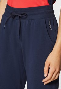 Esprit Sports - Tracksuit bottoms - navy - 3