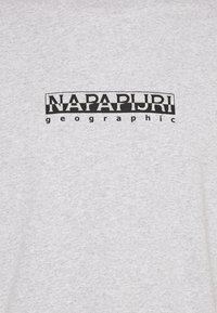 Napapijri The Tribe - BOX UNISEX - T-shirt imprimé - light grey mel - 2