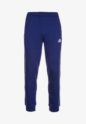 CORE 18  - Tracksuit bottoms - dark blue/white