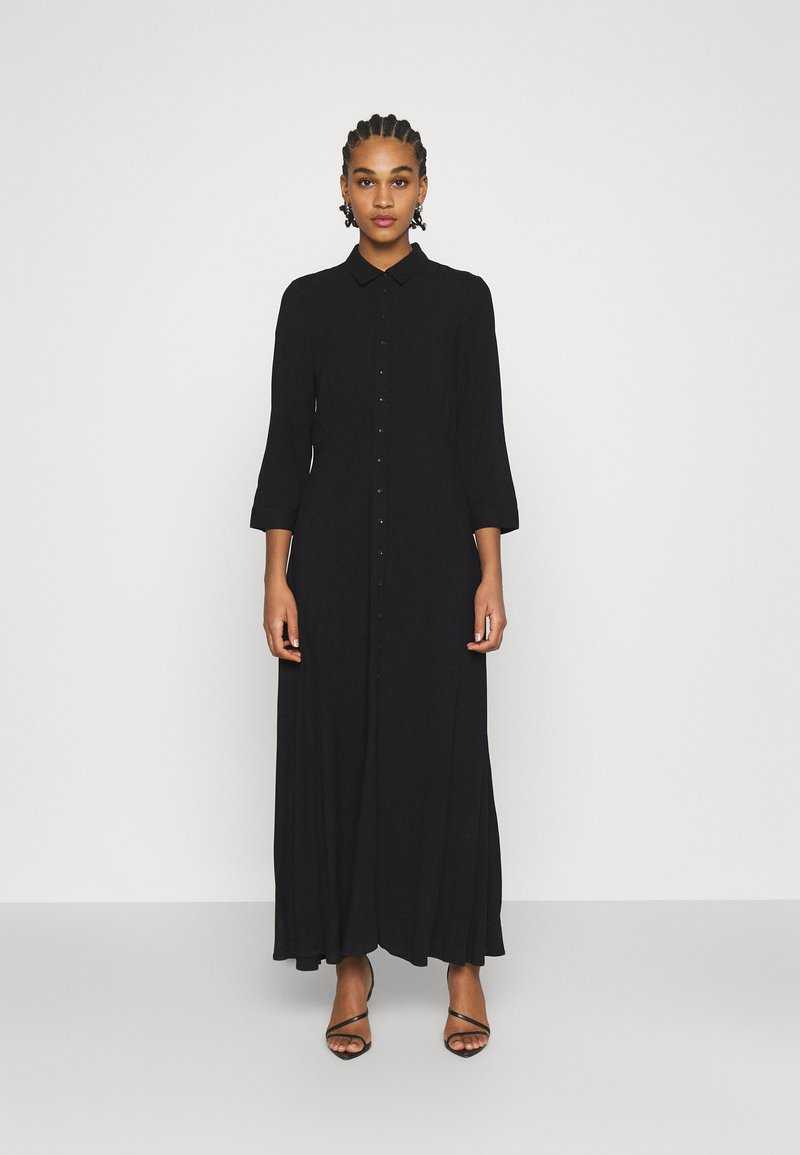 YAS - YASSAVANNA LONG DRESS - Maxi dress - black