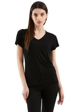 LIZ - Basic T-shirt - nero