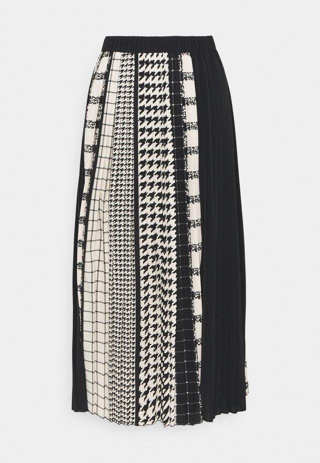 SAKINA SKIRT - A-linjekjol - black
