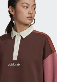 adidas Originals - POLO DRESS CB - Skjortekjole - multicolor