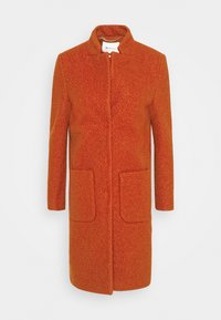 TEDDY - Classic coat - rusty red