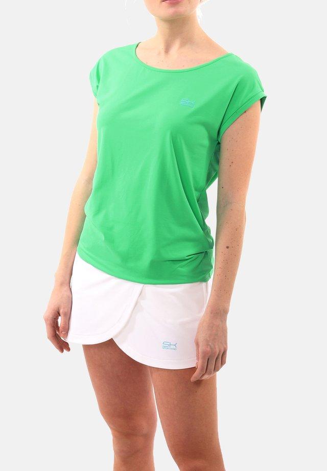 Basic T-shirt - grün