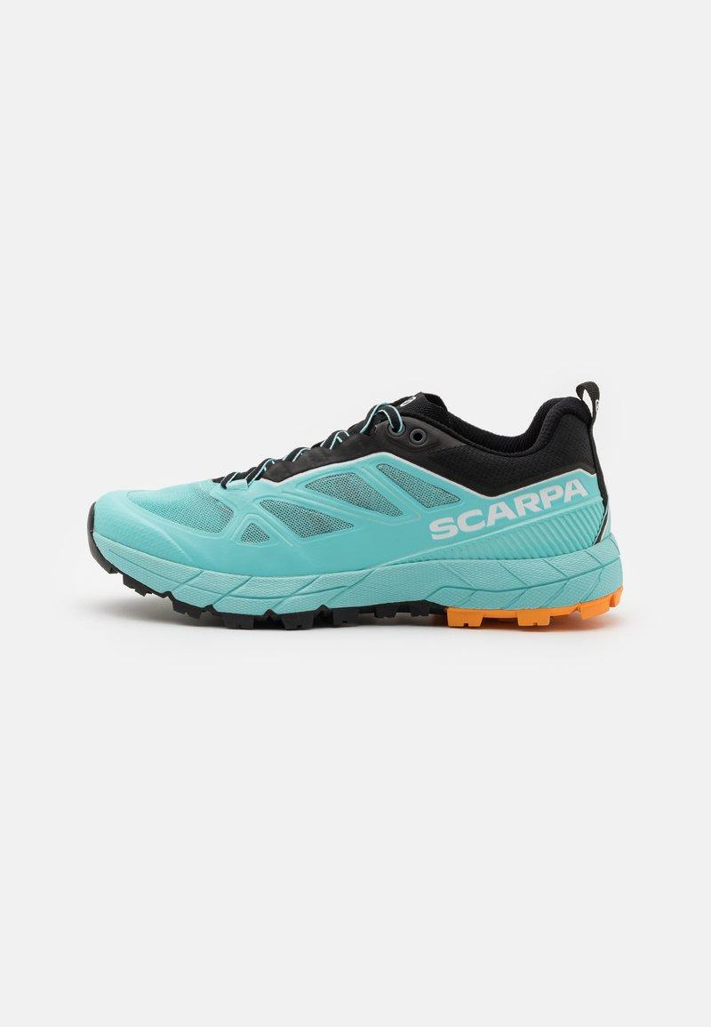 Scarpa - RAPID  - Běžecké boty do terénu - aqua/sunny orange