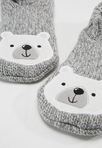 Even&Odd - BEAR SLIPPERS - Ponožky - grey - 2