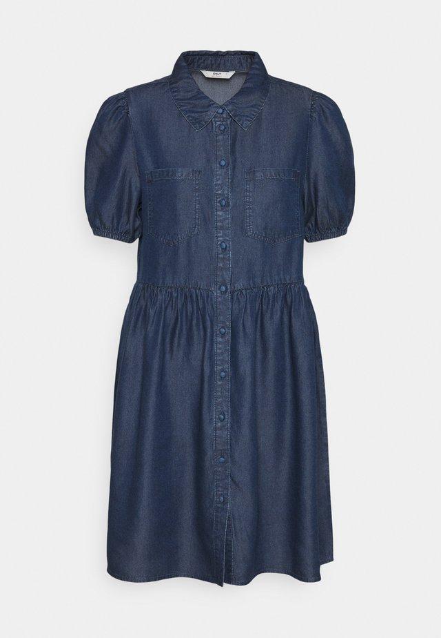 ONLULRIKA LIFE DRESS - Shirt dress - dark blue