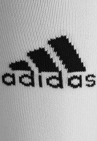 adidas Performance - Knee high socks - white/black - 1