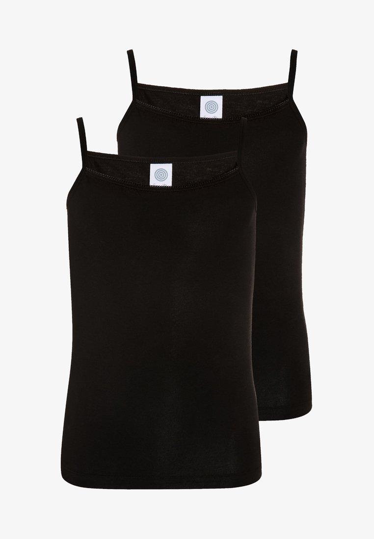 Sanetta - 2 PACK - Undershirt - super black