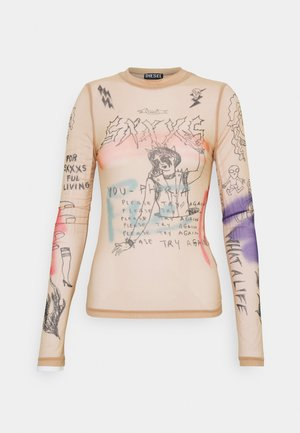 T-SIELY - Long sleeved top - nude