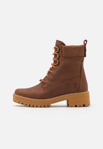 COURMA VALLEY BOOT WP - Platform ankle boots - mid brown