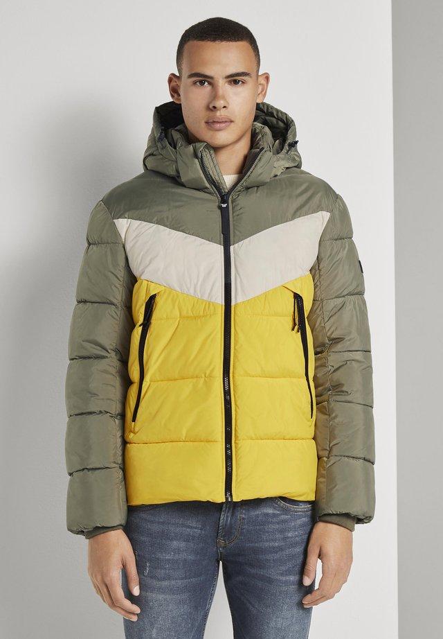 Veste d'hiver - tri color colorblock