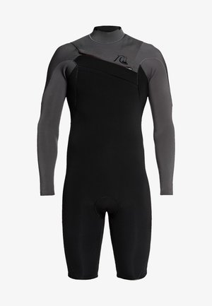 QUIKSILVER™ 2/2MM HIGHLINE LIMITED - LANGÄRMELIGER CHEST ZIP SPR - Wetsuit - black/ jet black
