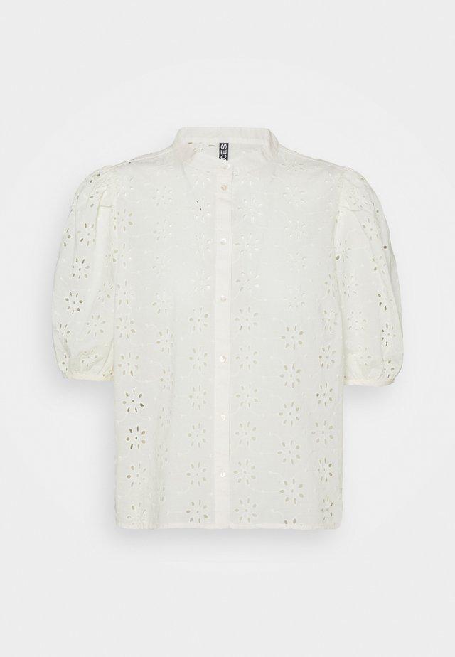 PCTILLIE - Camicia - buttercream