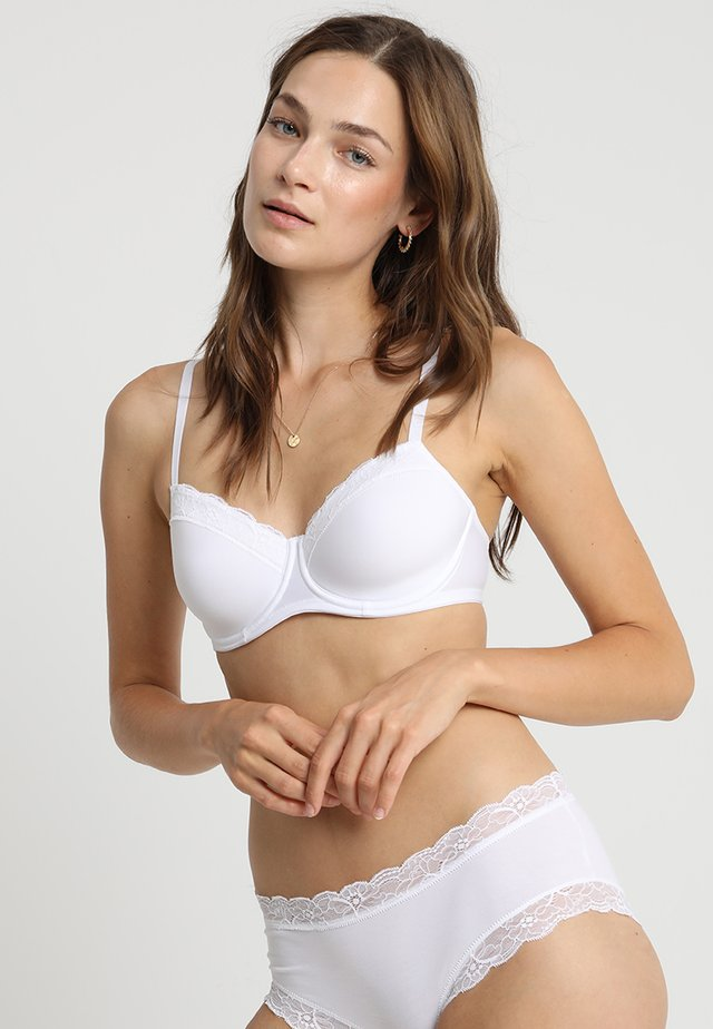 COTTON LACE - Soutien-gorge à armatures - white