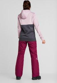 Wearcolour - FINE PANT - Skibukser - tibetan red - 2
