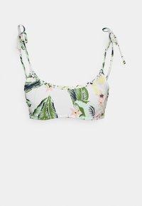 BLOOM BRA - Bikini top - bright white praslin