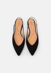 Chatelles - SLING BACK - Slingback ballet pumps - black - 4