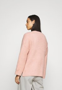 ONLY - ONLPIMMIE OPEN CARDIGAN - Cardigan - misty rose - 2
