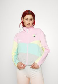 Puma - TRACK JACKET - Zip-up sweatshirt - gray/violet - 0