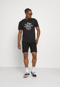 Only & Sons - ONSPINE LIFE TEE - Printtipaita - black - 1