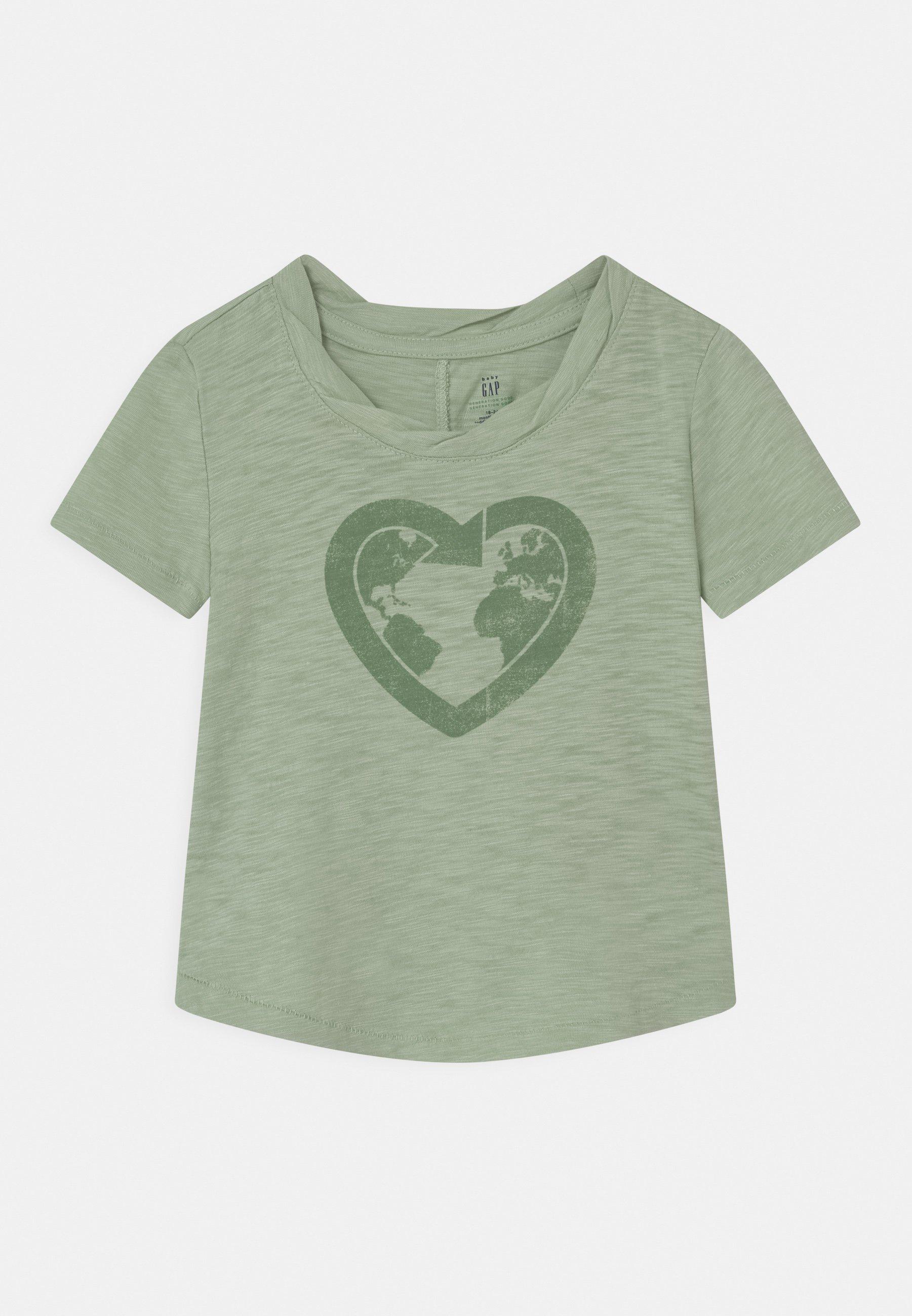 Kids TODDLER GIRL EASY  - Print T-shirt - smoke green