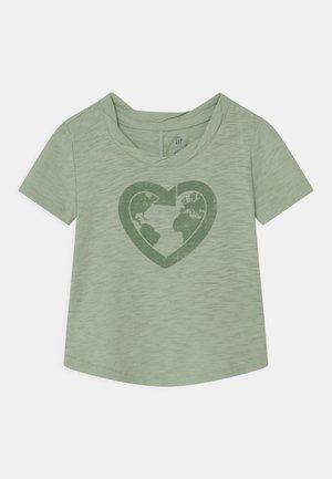 TODDLER GIRL EASY  - Print T-shirt - smoke green