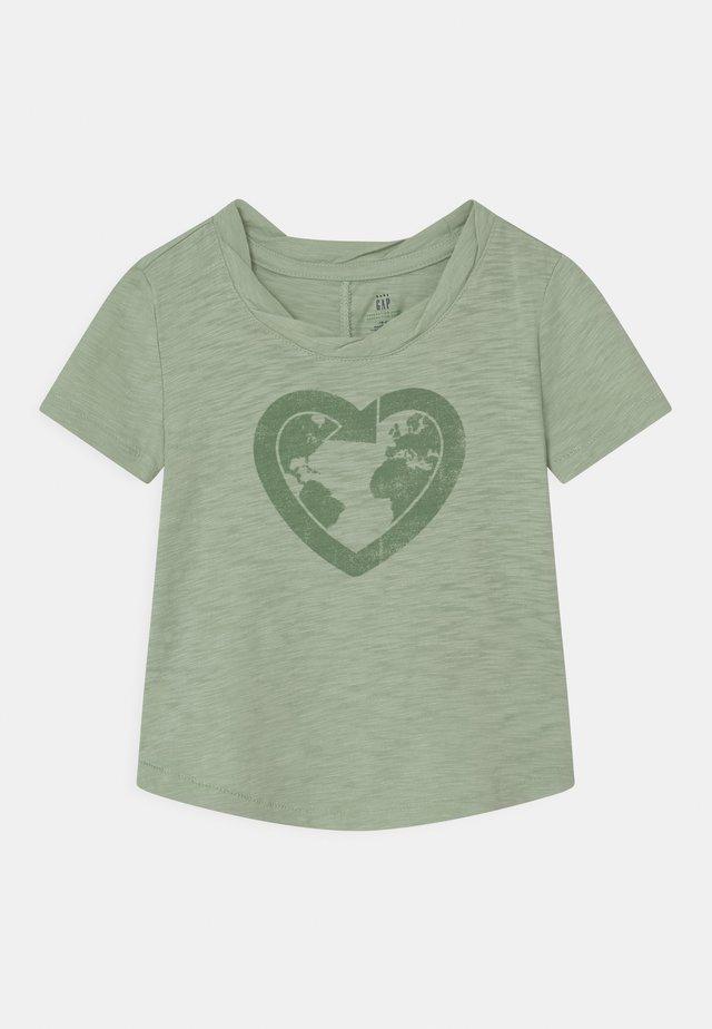 TODDLER GIRL EASY  - T-shirt print - smoke green