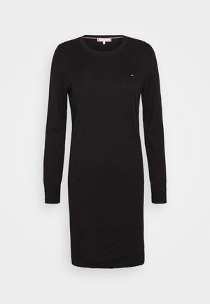 SOFT DRESS - Robe pull - black