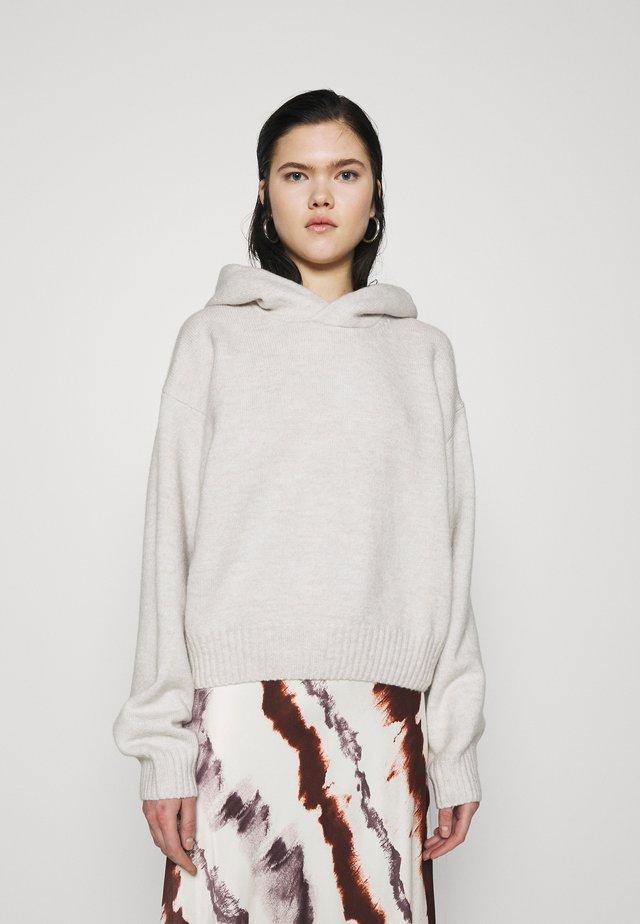 AMBRA HOODIE - Sweter - offwhite