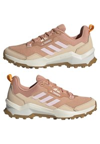 adidas Performance - TERREX AX4 - Hiking shoes - ambient blush/clear pink/ white - 5