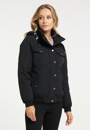 Outdoor jakke - schwarz
