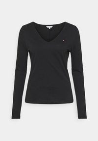 Tommy Hilfiger - REGULAR CLASSIC - Long sleeved top - black - 3