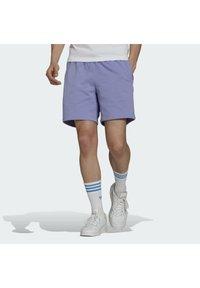 adidas Originals - PREMIUM SHORT - Kraťasy - light purple - 0