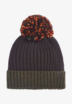 BOBBLE - Beanie - mottled dark blue