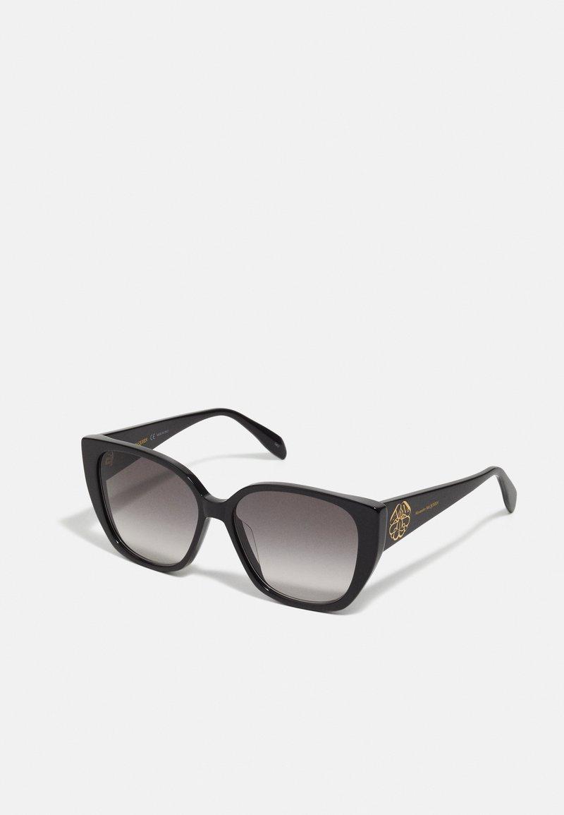 Alexander McQueen - Sunglasses - black/black/grey