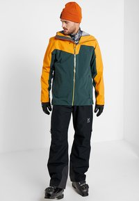 Haglöfs - STIPE JACKET MEN - Snowboardová bunda - mineral/desert yellow - 1