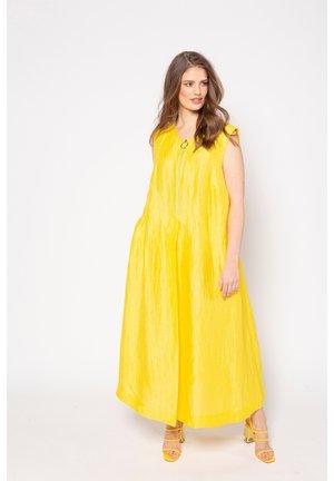 Maxi dress - goldgelb