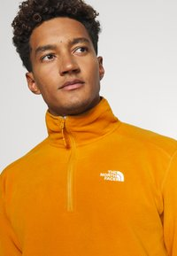 The North Face - GLACIER 1/4 ZIP - Fleece jumper - citrine yellow - 4