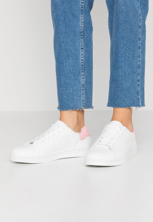 PSSARAH  - Sneaker low - bright white/sea pink